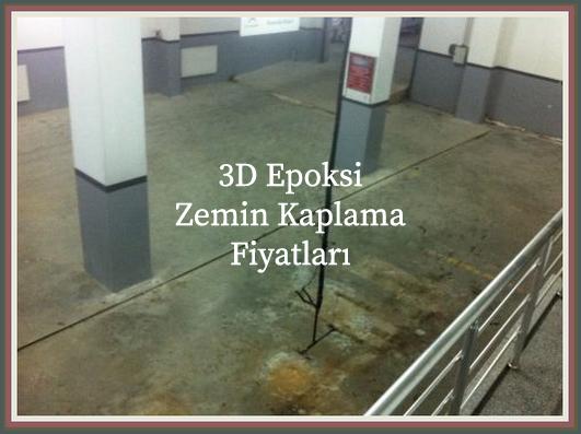 3D Epoksi Zemin Kaplama Fiyatları