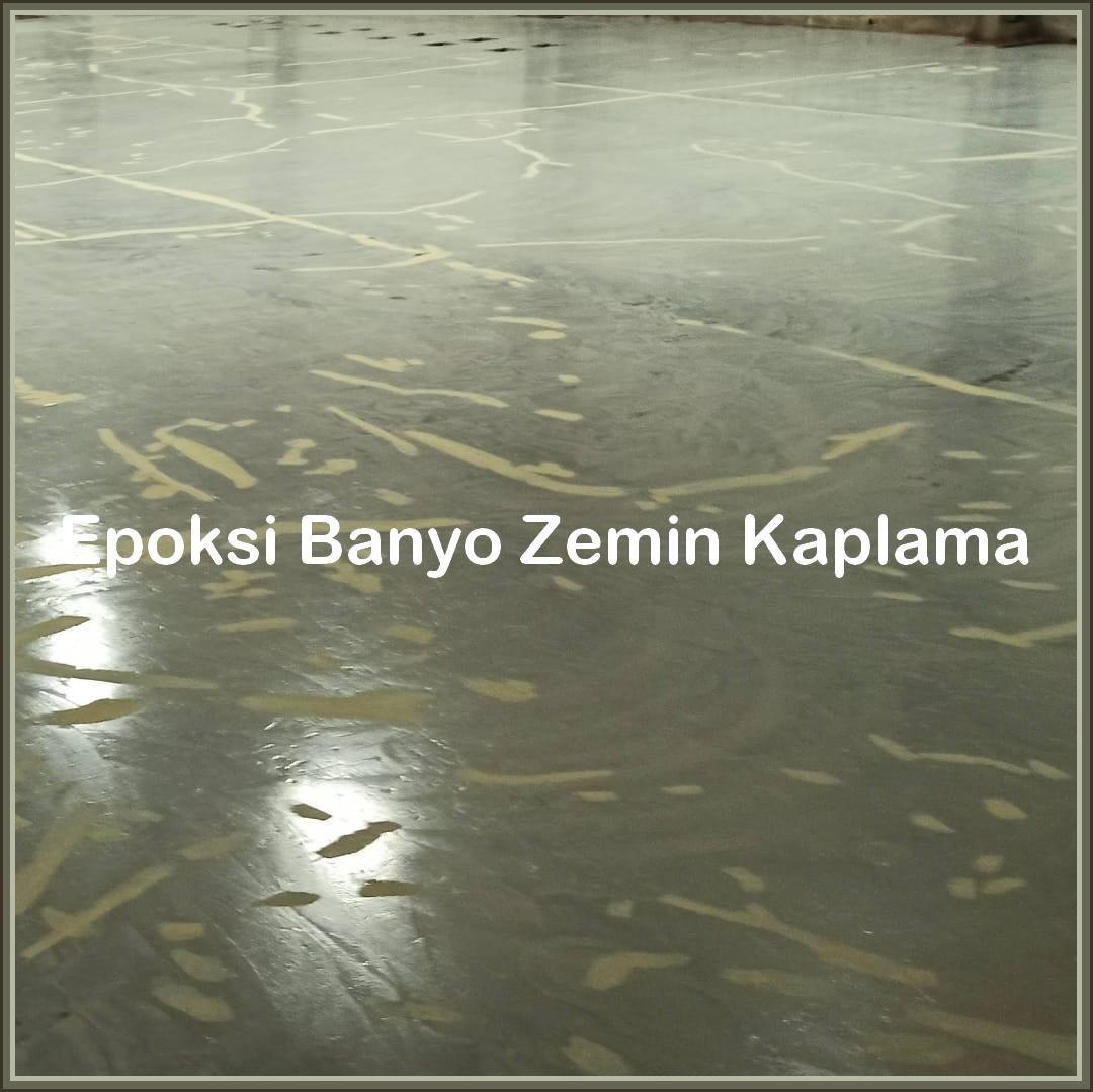Epoksi Banyo Zemin Kaplama